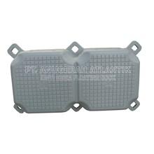 Kubus Apung Hdpe Plastik Double Silver - Modular Float System - Floating Dock - Ponton Plastik Apung - Cube Float