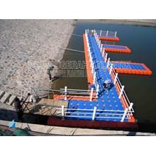 Dermaga Apung HDPE Modern dari Kubus Apung HDPE