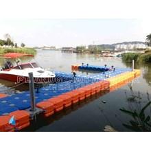 kubus apung hdpe modular float system untuk pembangunan dermaga apung