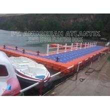 modular float system atau kubus apung hdpe untuk dermaga