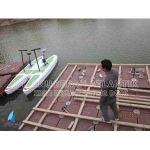 dermaga apung - modular float system