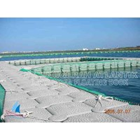 Jual kolam renang apung dari bahan kubus apung HDPE