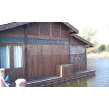 Rumah apung - kubus apung HDPE