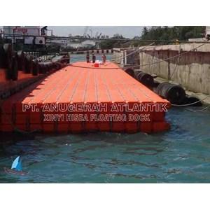Pelabuhan Terapung Dari Kubus Apung HDPE