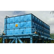 Distributor TANGKI PANEL FIBERGLASS 10 m3 Provinsi Sumatera Barat