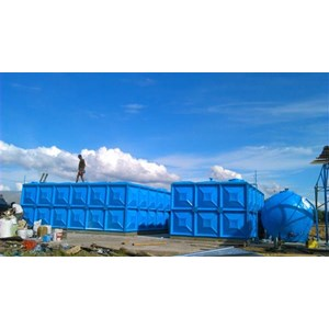 Distributor TANGKI PANEL FIBERGLASS 30 m3 Provinsi Bali