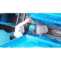 Distributor TANGKI PANEL FIBERGLASS 40 m3 Provinsi Kalimantan Selatan  1