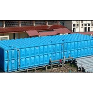 Distributor TANGKI PANEL FIBERGLASS 50 m3 Provinsi Kalimantan Barat