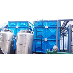 Distributor TANGKI PANEL FIBERGLASS 60 m3 Provinsi Riau