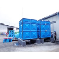 Distributor TANGKI PANEL FIBERGLASS 60 m3 Provinsi Sulawesi Selatan  1