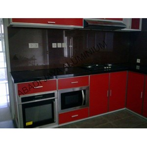 Sell aluminum kitchen set for Harga kitchen set aluminium