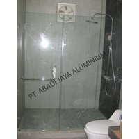 Shower Screen Kaca Tempered