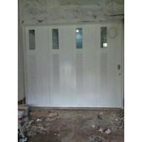 pintu garasi kayu murah