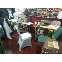 Sarung kursi press putih  Murah 5