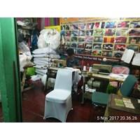 Distributor Sarung kursi press putih  3