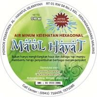 Air Minum Hexagonal Kemasan Gelas 120 Ml
