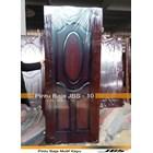 Pintu Besi Motif Kayu JBS Type 90 - 10  1