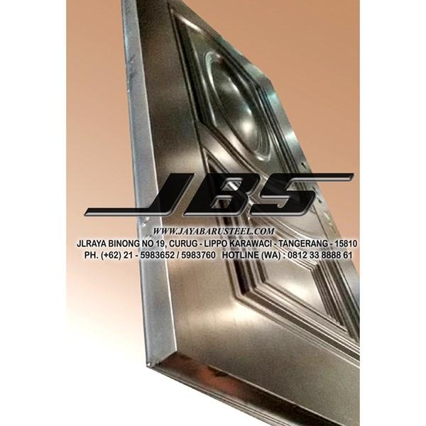 Pintu Besi Motif Kayu JBS Type 90 - 10