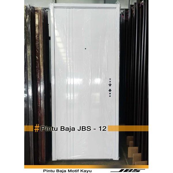 Pintu Besi Motif Kayu JBS Type 90 - 12