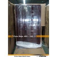 Pintu Baja Motif Kayu JBS Type 120  - 11