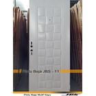 Pintu Besi Minimalis Putih - JBS DOOR TYPE 90.11 1