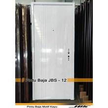 Pintu besi Minimalis Putih - JBS DOOR TYPE 12