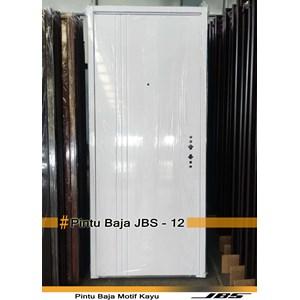 Minimalist White iron door-JBS DOOR TYPE 12