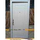 Pintu Besi Minimalis Putih - JBS DOOR TYPE 90.13 1