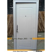 Minimalist White iron door-JBS DOOR TYPE 90.13