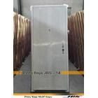 Pintu Besi Minimalis Putih - JBS DOOR TYPE 90.14 1
