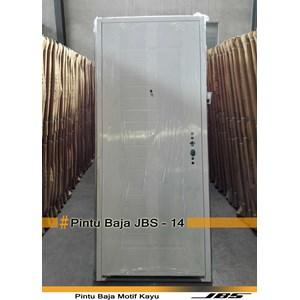 Pintu Besi Minimalis Putih - JBS DOOR TYPE 90.14