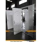 Pintu Besi Minimalis Putih - JBS DOOR TYPE 120.10  1