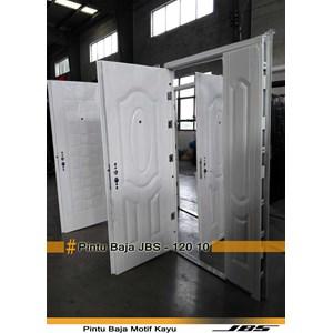 Pintu Besi Minimalis Putih - JBS DOOR TYPE 120.10
