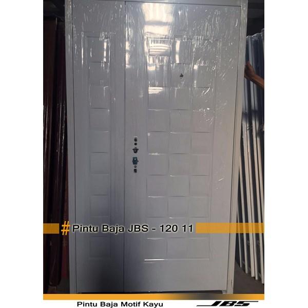 Pintu Besi Minimalis Putih - JBS DOOR TYPE 120.11