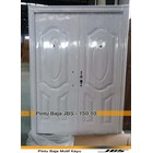 Pintu Besi Minimalis Putih - JBS DOOR 150.10 1