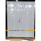 Pintu Besi Minimalis Putih - JBS DOOR TYPE 150.11 1