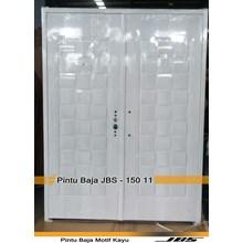 Pintu Besi Minimalis Putih - JBS DOOR TYPE 150.11
