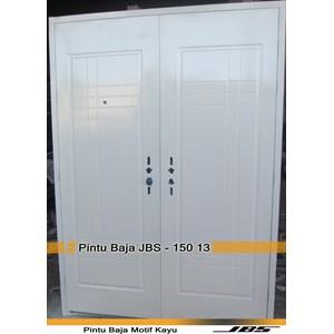 Pintu Besi Minimalis Putih - JBS DOOR TYPE 150.13