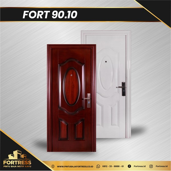 Pintu Besi Baja FORTRESS Single Type 10