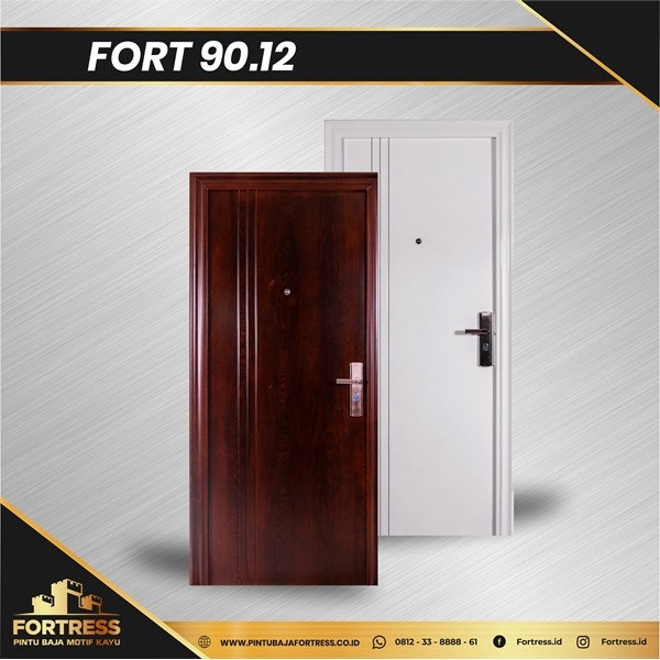 Pintu Besi Baja FORTRESS Single Type 12