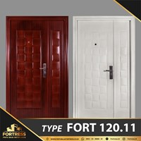 FORTRESS Mother & Son 120 x 210 Type 11 Putih & Urat Kayu