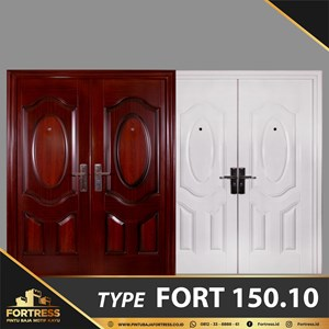 Pintu Besi Baja FORTRESS Double Doord Type 10