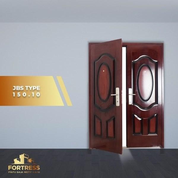 Pintu Besi Baja FORTRESS Double Doord Type 10