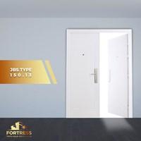 Pintu Besi Baja FORTRESS Double Door Type 13