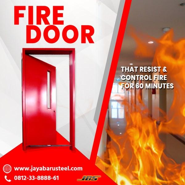 Jual Pintu Tahan Api