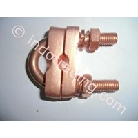 Ground Rod Clamp Type U Bolt