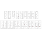 Jendela Aluminium Casement 1