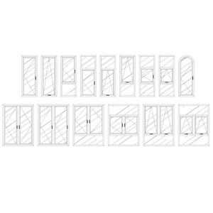 Jendela Aluminium Casement