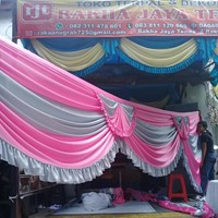 Rumbai tenda dekorasi pernikahan dan hadiah Murah 5