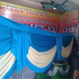 Rumbai tenda dekorasi pernikahan dan hadiah